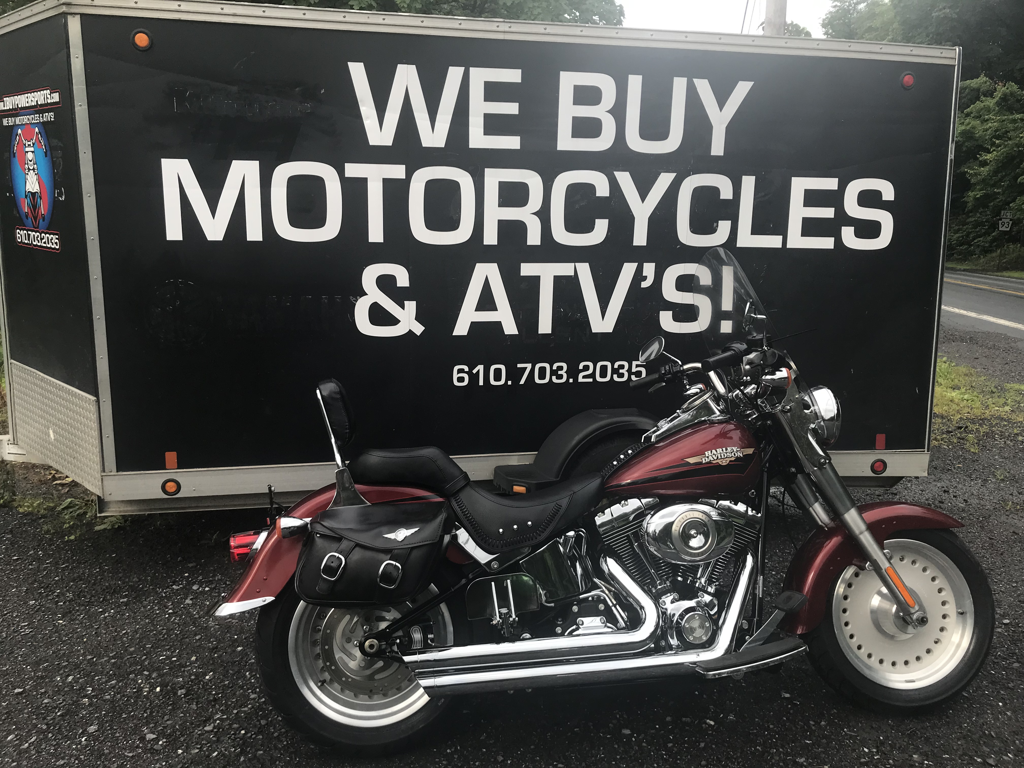 2009 Harley Davidson Fat Boy FLSTFI- only 5000 miles LOTS OF EXTRAS